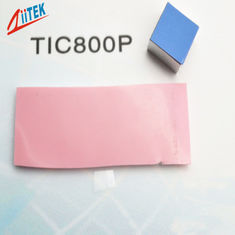 LED lighting Thermal phase changing materials Interface Pad Pink Low Resistance 0.95 W/MK